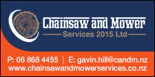 Chainsaw & Mower Services